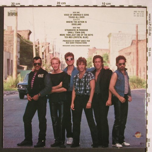 Cafferty,John & t.Beaver Brown Band: Tough All Over, ScottiBros(260 14 033), D, 1985 - LP - X1693 - 5,00 Euro