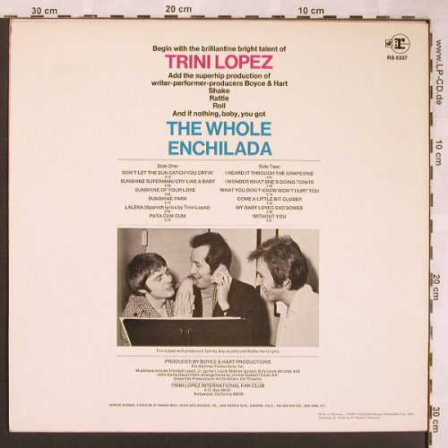Lopez,Trini: The Hole Enchilad, vg+/m-, Reprise(RS 6337), D,  - LP - X1756 - 5,00 Euro