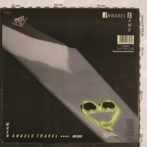 Lamb,Annabel: When Angels Travel+1, RCA(PT 40662), D, 1986 - 12inch - X176 - 2,00 Euro