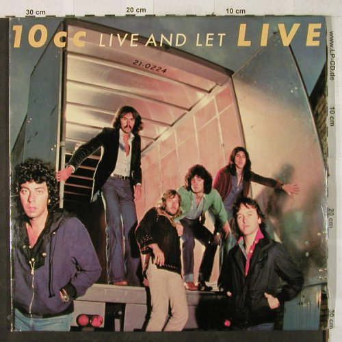 10cc: Live And Let - Live, Foc, Mercury(6641 714), NL, 1977 - 2LP - X1802 - 9,00 Euro