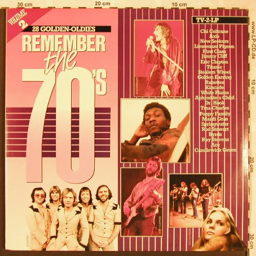 V.A.Remember The 70's: Vol.2,Chi Coltrane..PrinceBuster, Arcade(ADEH 156), NL, Foc, 1984 - 2LP - X1856 - 5,00 Euro