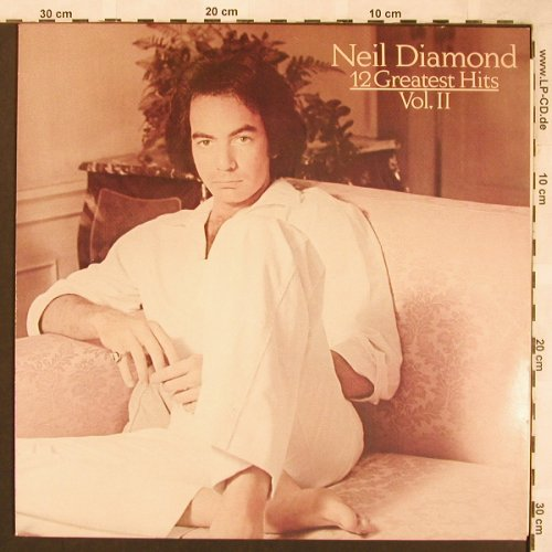 Diamond,Neil: 12 Greatest Hits Vol.2, CBS(CBS 85 844), NL,  - LP - X1861 - 5,50 Euro