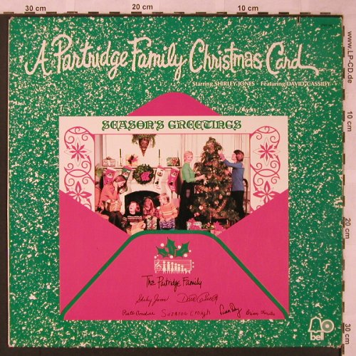 Partridge Family: Christmas Card, Bell(2308 043), D, co, 1971 - LP - X2038 - 5,50 Euro