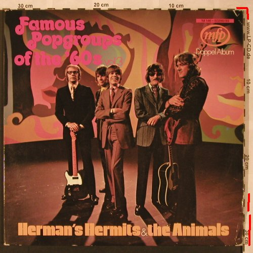 Herman's Hermits & The Animals: Famous Popgroups of the '60s,Vol.3, MFP(1M 146-50288/89), D, m-/vg+,  - 2LP - X2043 - 6,00 Euro