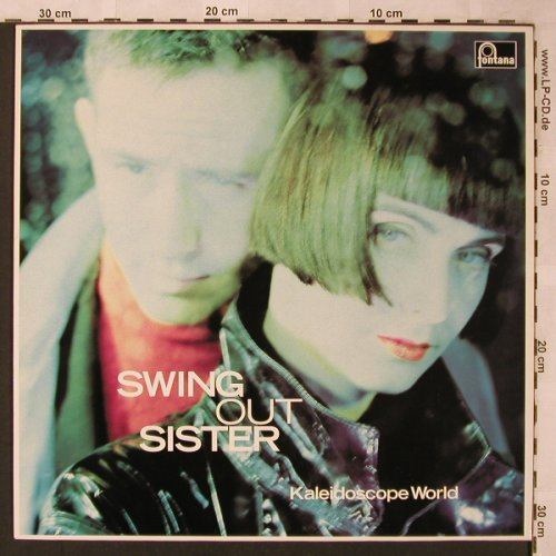 Swing Out Sister: Kaleidoscope World, Fontana(838 293-1), D, 1989 - LP - X2124 - 5,50 Euro