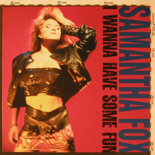 Fox,Samantha: I Wanna Have Some Fun, Jive(6.26906 AS), D, 1988 - LP - X2134 - 5,00 Euro