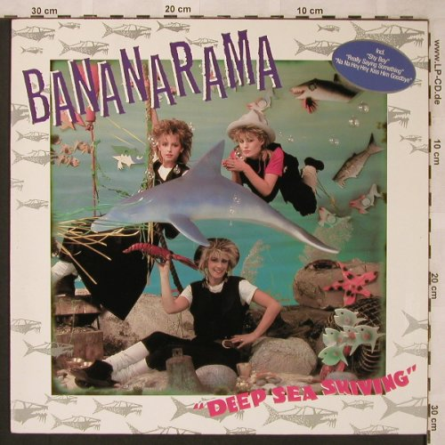 Bananarama: Deep Sea Skiving, Metronome(810 943-1), D, 1983 - LP - X2137 - 5,00 Euro