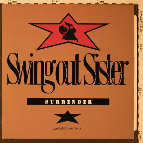 Swing Out Sister: Surrender+2 (Lim.Ed. Remix), Mercury(SWING 3312), UK, 1987 - 12inch - X2253 - 3,00 Euro