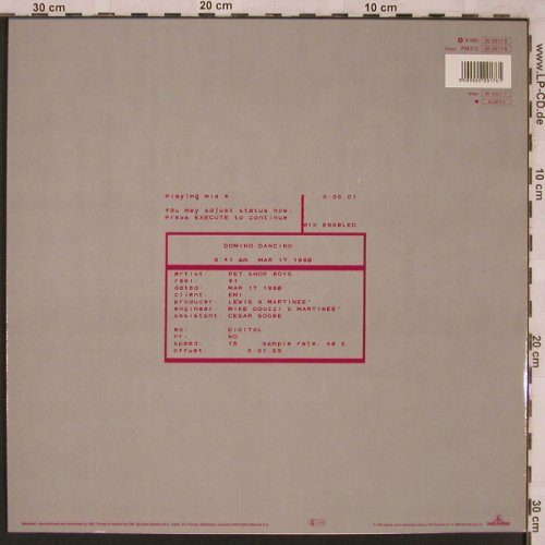 Pet Shop Boys: Domino Dancing*2/Don Juan, EMI(20 2917 6), NL, 1988 - 12inch - X2358 - 4,00 Euro