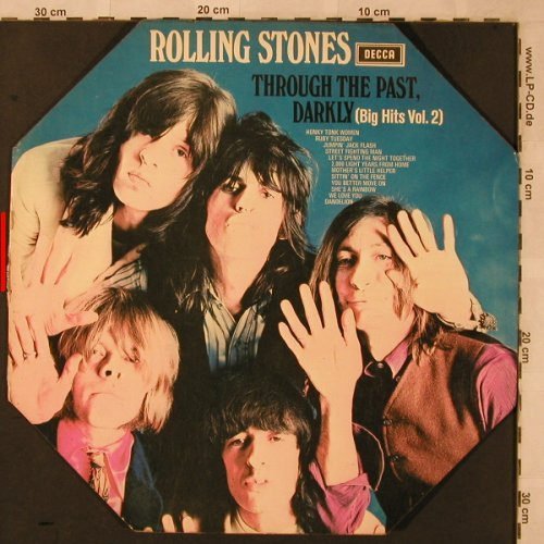 Rolling Stones: Through The Past,Darkly(B.HitsVol.2, Decca, VG+/VG+(SKL 5019), 8eckCover, 19UK - LPgx - X2494 - 25,00 Euro