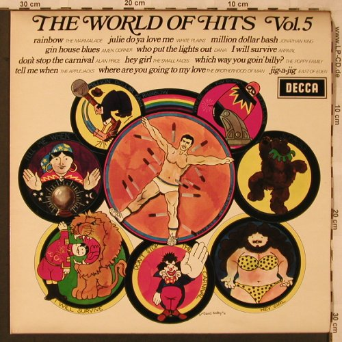 V.A.The World Of Hits Vol.5: Marmalade...East of Eden, Decca(SPA 177), UK,  - LP - X2497 - 5,00 Euro