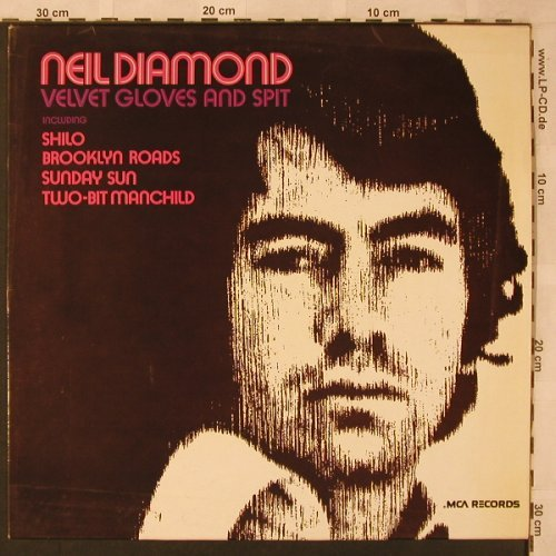 Diamond,Neil: Velvet Gloves And Spit, MCA(6.22197 AO), D, 1973 - LP - X2533 - 5,50 Euro