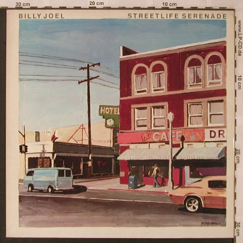 Joel,Billy: Streetlife Serenade, CBS(32035), NL, 1975 - LP - X2585 - 5,00 Euro