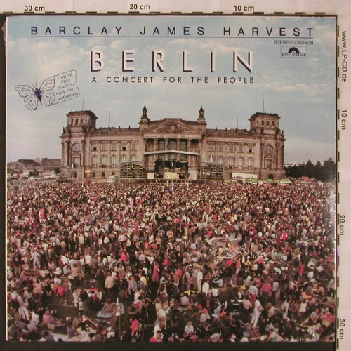 Barclay James Harvest: Berlin-A Concert For The People, Polystar(2475 554), D, FS-New, 1982 - LP - X2586 - 10,00 Euro