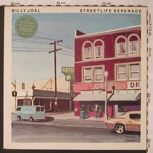 Joel,Billy: Streetlife Serenade, CBS(CBS 32035), UK, 1975 - LP - X2588 - 6,00 Euro