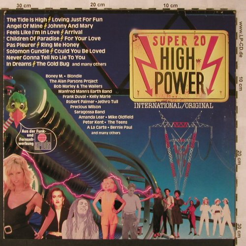 V.A.Super 20 High Power: Alan Parsons Project...Don Williams, Ariola(203 203-502), D, 1980 - LP - X2609 - 4,00 Euro