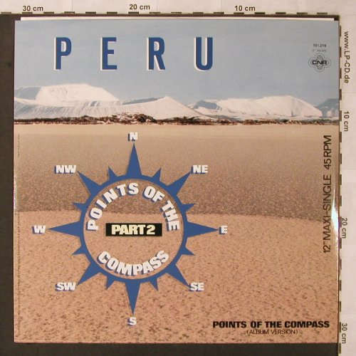 Peru: Points Of The Compass pt.2, CNR(151.219), D, 1986 - 12inch - X2628 - 4,00 Euro