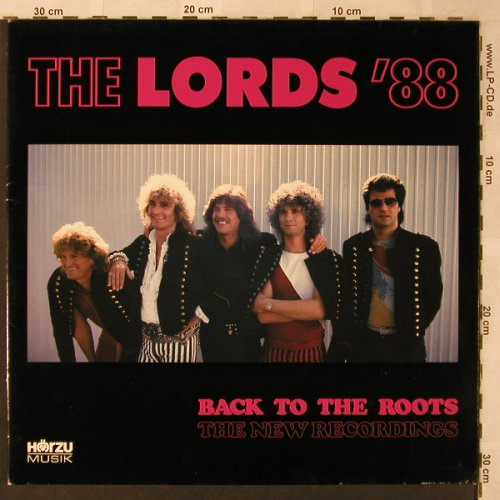 Lords'88: Back To The Roots,New Recording, HörZu / IMS(LP 1681), D, Foc, 1988 - LP - X2636 - 5,00 Euro