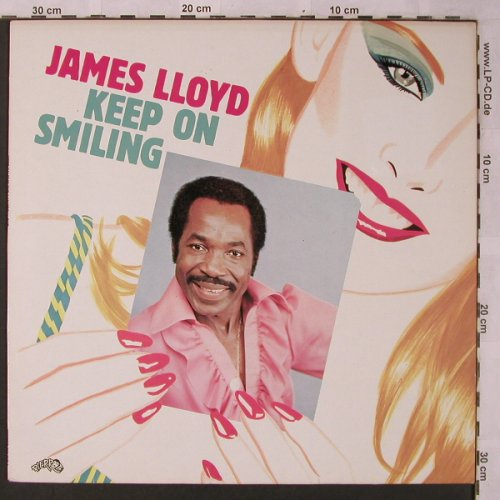 Lloyd,James: Keep On Smiling, Pierrot(810 817-1), D, 1983 - LP - X2674 - 5,00 Euro
