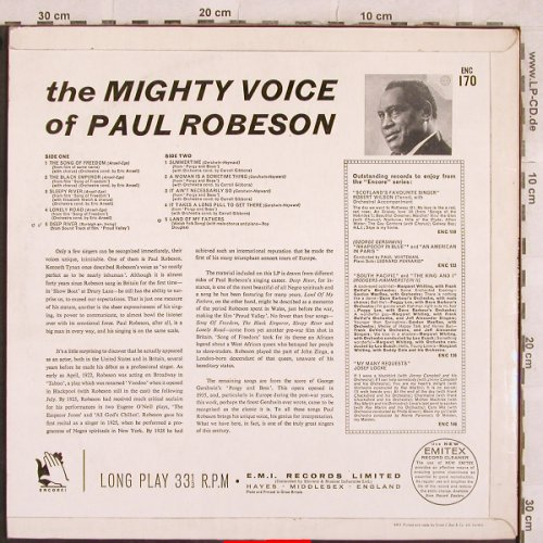 Robeson,Paul: The Mighty Voice of, m-/vg+, Encore!(ENC 170), UK, Mono,  - LP - X267 - 7,50 Euro