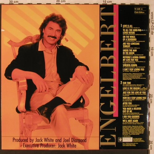Engelbert: Remember - I Love You, Club-Ed., White Records(14 645 6), D, 1987 - LP - X2730 - 5,00 Euro