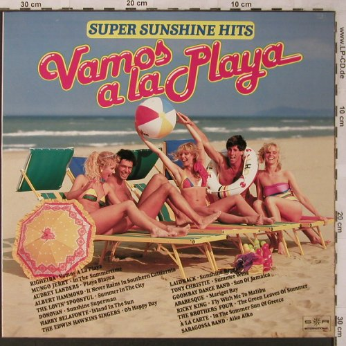 V.A.Vamos a la Playa-Super Sunshine: Righeira...Saragossa Band, SR(40 513 4), D,Club Ed., 1984 - LP - X2741 - 4,00 Euro