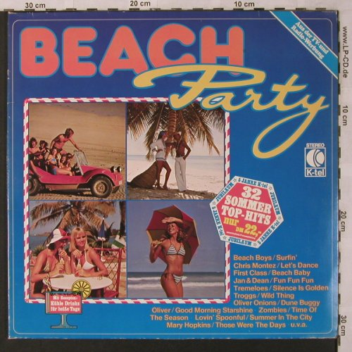 V.A.Beach Party: Oliver Onions...Mr.K., K-tel(TG 1179), D,  - 2LP - X2771 - 5,00 Euro