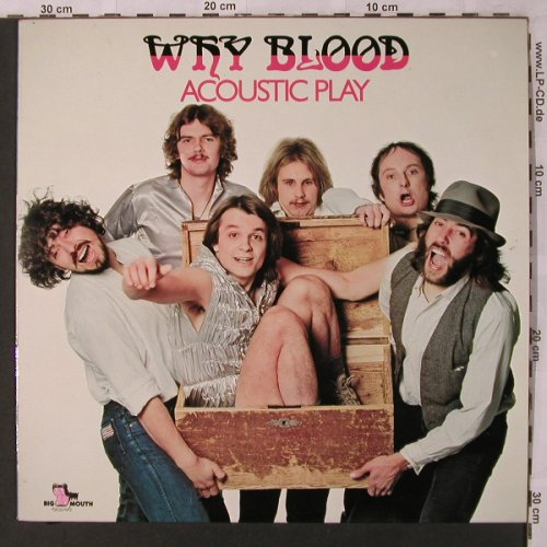 Why Blood: Acoustic Play, Big Mouth(6.23764 AO), D, 1979 - LP - X2790 - 9,00 Euro