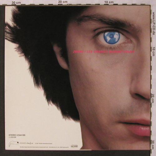 Jarre,Jean Michel: Magnetic Fields, Polydor(2344 166), D, 1981 - LP - X2811 - 6,00 Euro