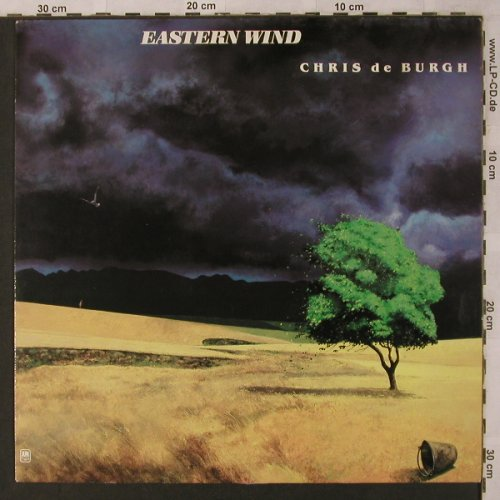 De Burgh,Chris: Eastern Wind, AM(394 815-1), D, Ri, 1980 - LP - X2814 - 6,00 Euro