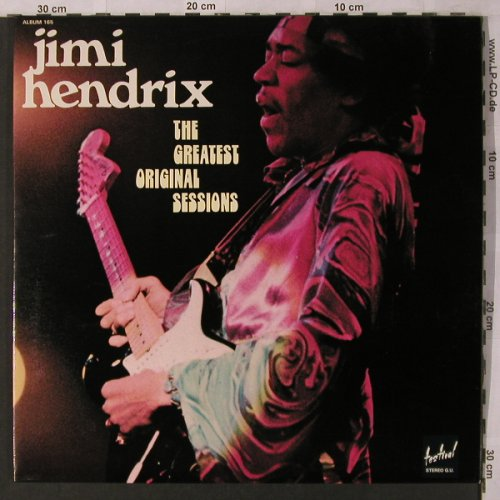 Hendrix,Jimi: The Great Original Sessions, Foc, Festival(165), F,  - 2LP - X2820 - 15,00 Euro