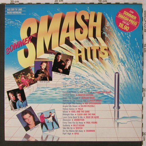 V.A.Sommer Smash Hits: Tears for Fears...Opus, CBS(CBS 24 050), NL, 1985 - LP - X2936 - 4,00 Euro
