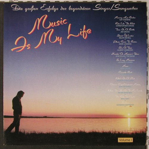 V.A.Music Is My Life: Vol.1-Cat Stevens..Gordon Lightfoot, CBS(CBS 24 064), NL, 1985 - LP - X2966 - 5,00 Euro