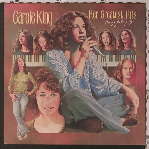 King,Carole: Her Greatest Hits-Songs of the..., ODE/Epic(EPC 86043), NL, Ri,  - LP - X2971 - 7,50 Euro