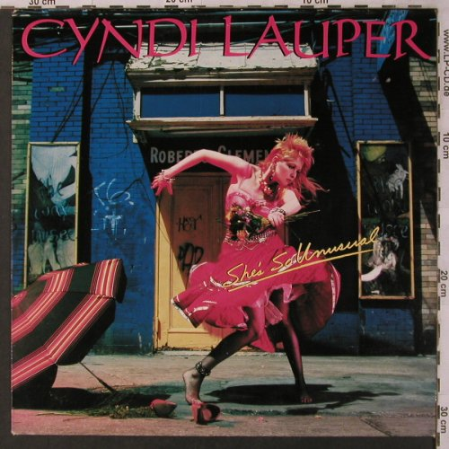 Lauper,Cyndi: She's So Unusual, Portrait(PRT 25792), NL, 1983 - LP - X3016 - 5,00 Euro
