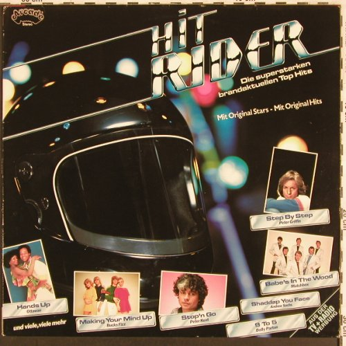 V.A.Hit Rider: Bucks Fizz...Commander Cody Band, Arcade(ADE G 133), D,  - LP - X3138 - 4,00 Euro