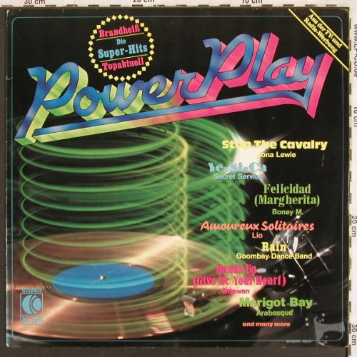 V.A.Power Play: Secret Service,Boney M....Lio, K-tel(TG 1319), D, 1981 - LP - X3140 - 4,00 Euro