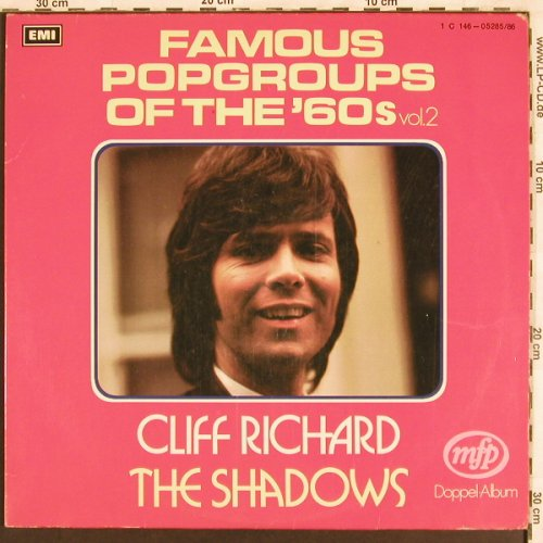 Richard,Cliff/Shadows: Famous Popgroup Of 60's,Foc, MFP/EMI(1C 146-05285/86), D,  - 2LP - X3201 - 7,50 Euro