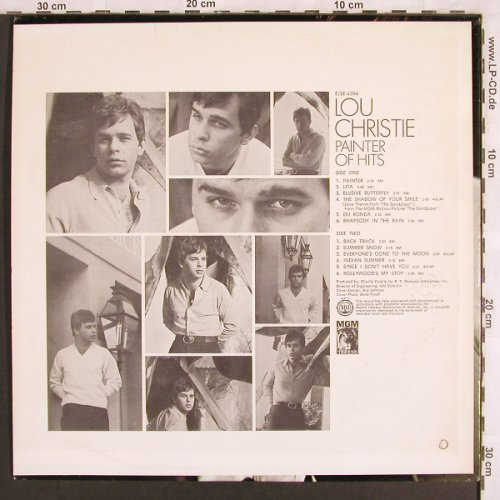 Christie,Lou: Painter of Hits, m-/vg+, Mono, MGM(E-4394), US, co,  - LP - X3233 - 9,00 Euro