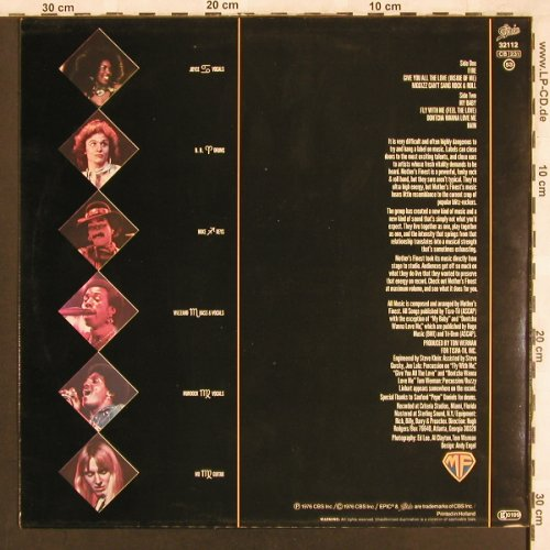 Mothers Finest: Same, Epic(EPC 32112), NL, 1976 - LP - X3296 - 6,00 Euro