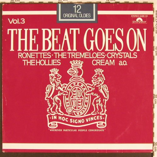 V.A.The Beat Goes On Vol.3: Ronettes,Tremeloes.., m-/vg+, Polydor(2485 131), D,  - LP - X3302 - 4,00 Euro