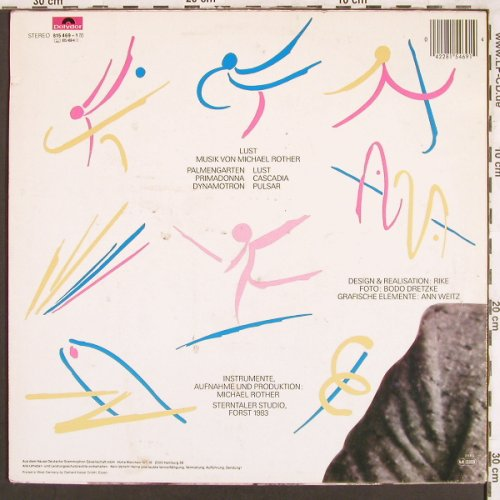 Rother,Michael: Lust, Polydor(815 469), D, 1983 - LP - X3305 - 6,00 Euro