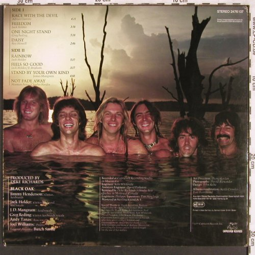 Black Oak: Race With The Devil, vg+/m-, Capricorn(2476 137), D, 1977 - LP - X3337 - 5,00 Euro