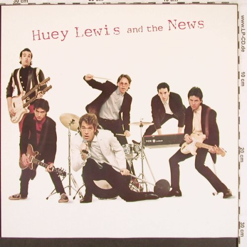 Lewis,Huey & The News: Same, Chrysalis(202 700-273), D, 1980 - LP - X3353 - 5,00 Euro