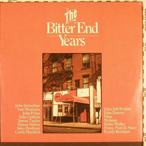 V.A.The Bitter End Years: John Sebastian ... Everly Brothers, Chelsea(2306 009), D, 1974 - LP - X3360 - 6,00 Euro