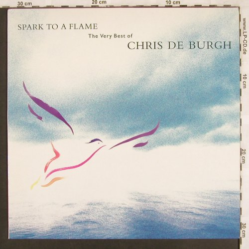 De Burgh,Chris: Spark To Flame-Very Best, AM(397 032-1), , 1989 - LP - X3379 - 5,50 Euro