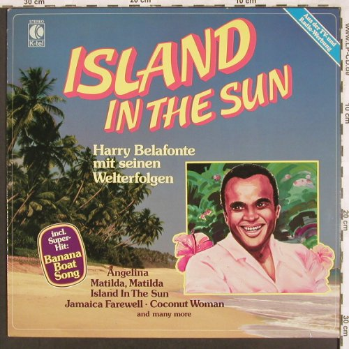 Belafonte,Harry: Island In The Sun, K-tel(TG 1349), D, 1981 - LP - X3394 - 4,00 Euro