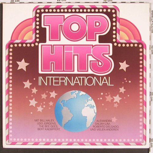 V.A.Top Hits International: Bill Haley..Volker Lechtenbrink,Foc, Polydor/NESTLE(0666 807), D,  - 2LP - X3395 - 5,00 Euro