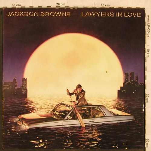 Browne,Jackson: Lawyers In Love, Asylum(96-0268-1), D, 1983 - LP - X33 - 5,00 Euro