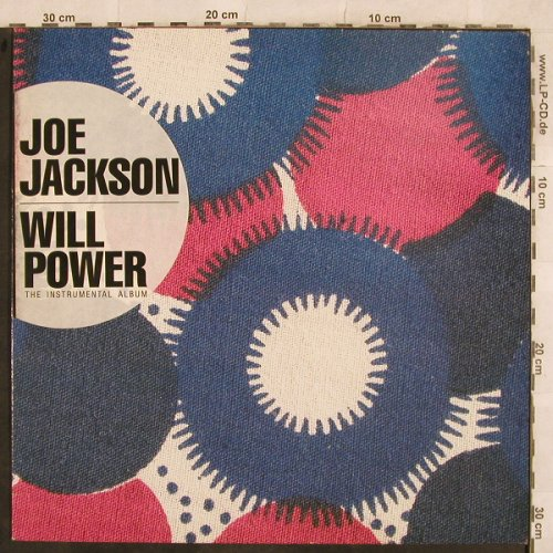 Jackson,Joe: Will Power- instrumental Album, AM(393 908-1), D, 1987 - LP - X343 - 5,00 Euro